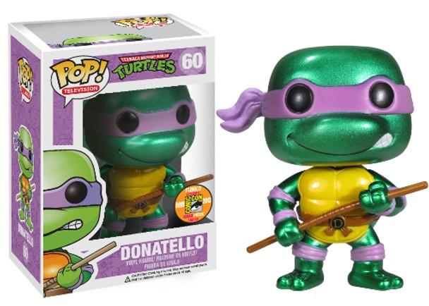POP Television (VINYL): TMNT – Donatello Metallic SDCC 2013 Exclusive
