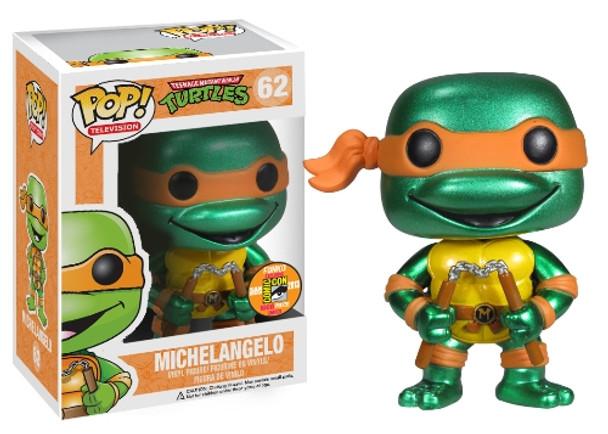 POP Television (VINYL): TMNT – Michelangelo Metallic SDCC 2013 Exclusive