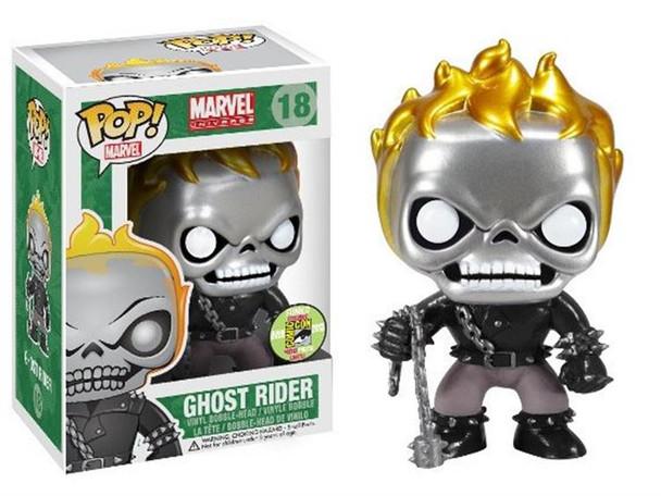 Pop! Marvel Series 2 - Ghost Rider Metallic SDCC 2013 Exclusive