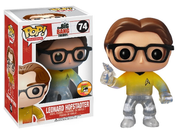 Pop! Television: Leonard Star Trek SDCC 2013 Exclusive
