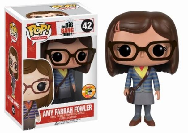 POP Television (VINYL): Amy Farrah Fowler SDCC 2013 Exclusive