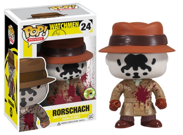 POP Movies: Watchmen - Rorschach Blood Stain SDCC 2013 Exclusive