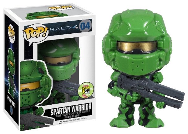 Pop! Halo 4: Spartan Warrior - Green SDCC 2013 Exclusive