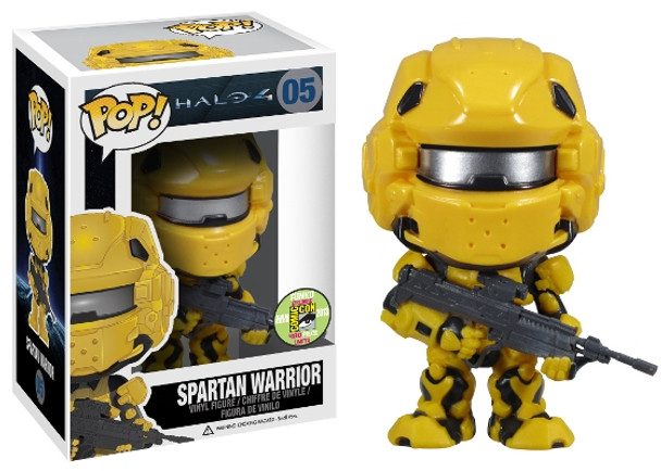 Pop! Halo 4: Spartan Warrior - Yellow SDCC 2013 Exclusive
