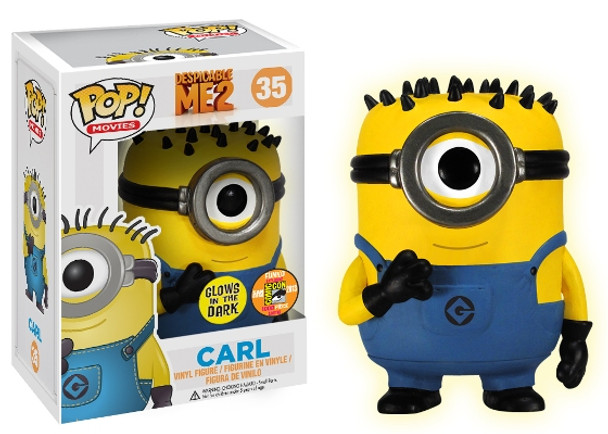Pop! Movies: Despicable Me 2 Carl Glow in The Dark SDCC 2013 Exclusive
