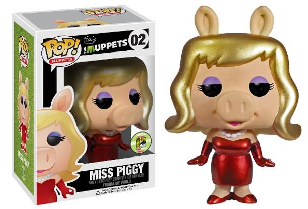 POP Muppets: Miss Piggy Metallic SDCC 2013 Exclusive