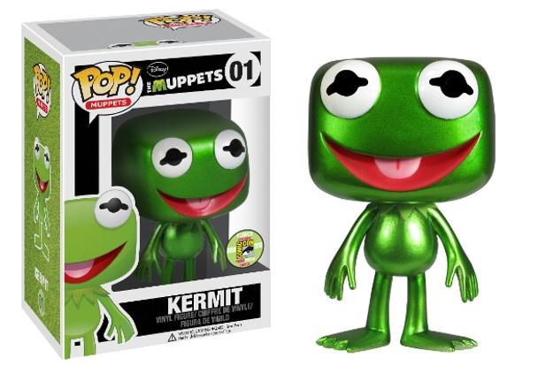 POP Muppets: Kermit The Frog Metallic SDCC 2013 Exclusive