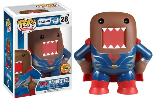 DC Domo POP Heroes! - Superman Man of Steel SDCC 2013 Exclusive