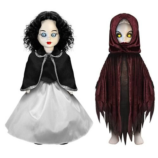 Living Dead Dolls Scary Tales Series 4: Snow White and The Evil Queen Dolls Set