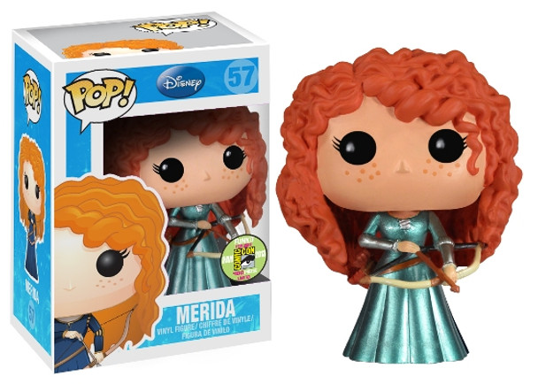 POP Disney (VINYL) Series 5: Merida Metallic SDCC 2013 Exclusive