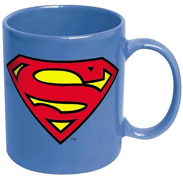Superman Logo Blue Coffee Mug