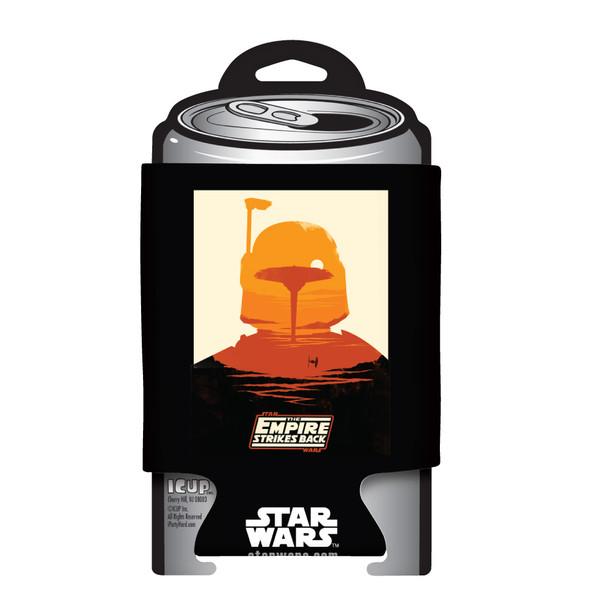 Star Wars Empire Strikes Back Bobba Fett Poster Can Hugger
