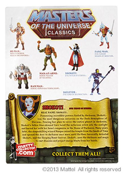 Masters Of The Universe Classics Shokoti Figure