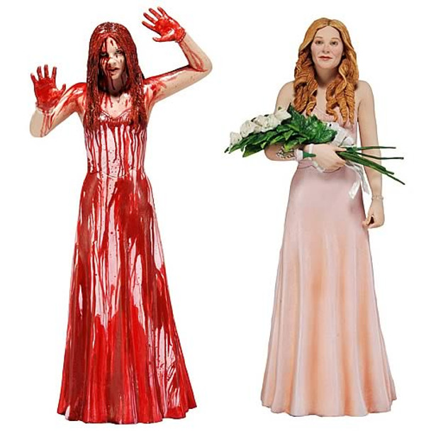Carrie 2013 Remake Carrie White 7-Inch Action Figure Set