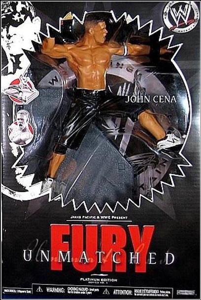 WWE Unmatched Fury Series 1 John Cena Action Figure