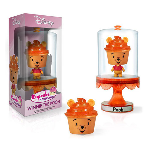 Disney Winnie the Pooh Cupcake Keepsakes Series 1 Mini-Figure