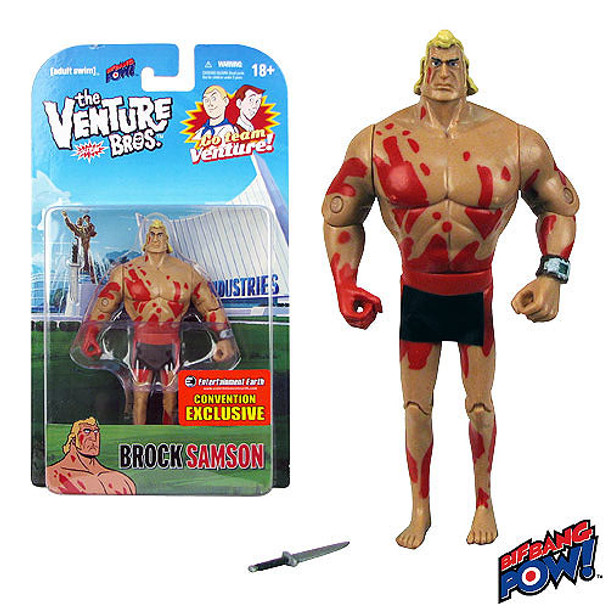 The Venture Bros. Naked Brock Samson 3 3/4-Inch Action Figure