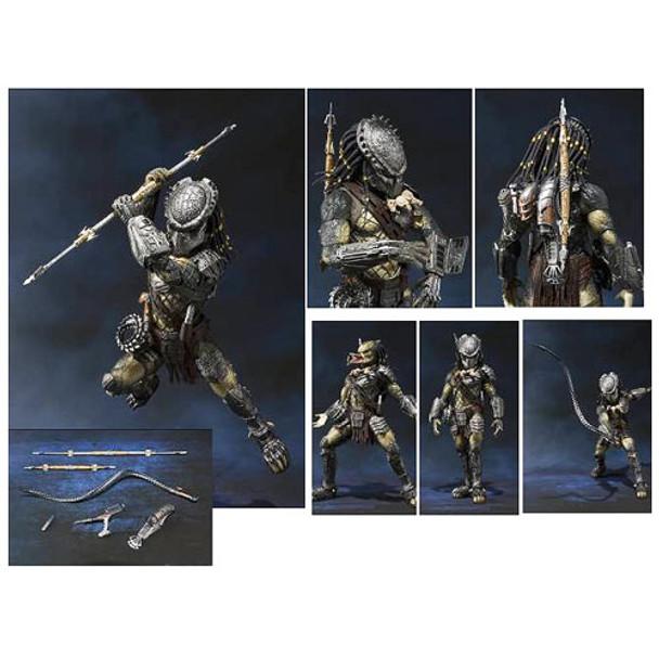 Alien vs. Predator Wolf Predator SH MonsterArts Die-Cast Metal Action Figure