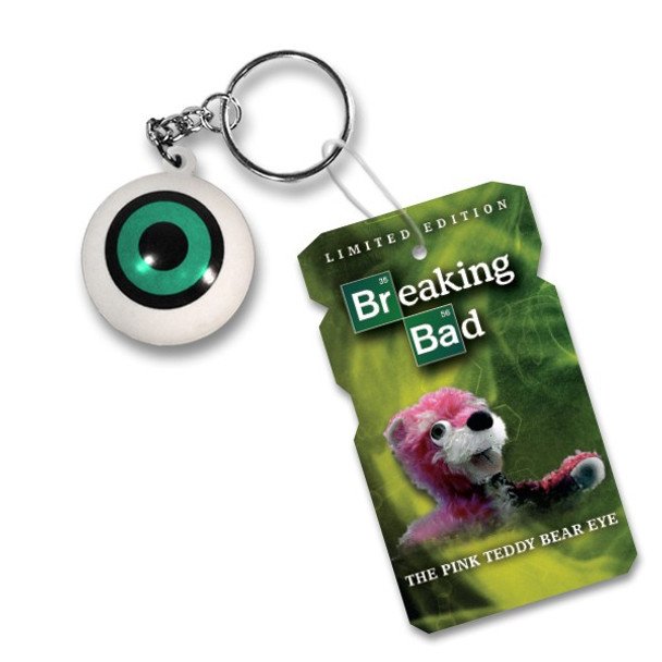 NYCC Breaking Bad The Pink Teddy Bear Eye Limited Edition Keychain