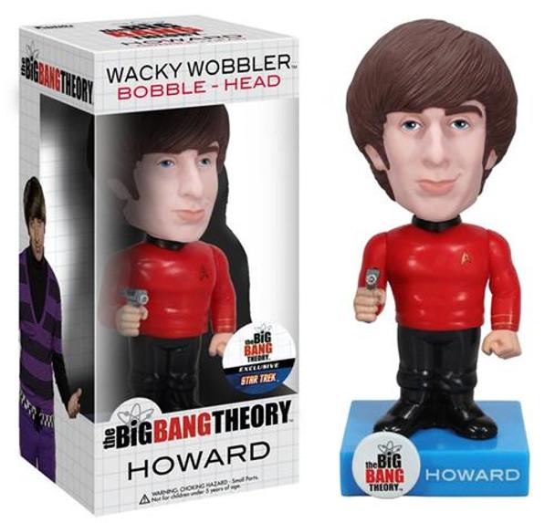 Star Trek Big Bang Theory Howard Bobble Head