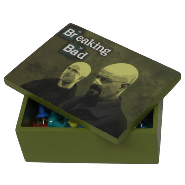 Breaking Bad Walter and Jesse Stash Box