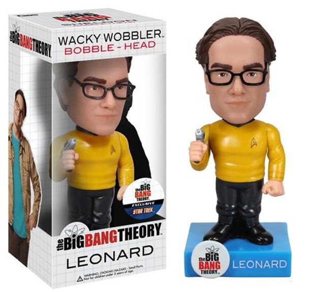 Star Trek Big Bang Theory Leonard Bobble Head