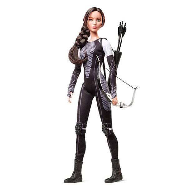 Hunger Games Catching Fire Katniss Everdeen Barbie Doll