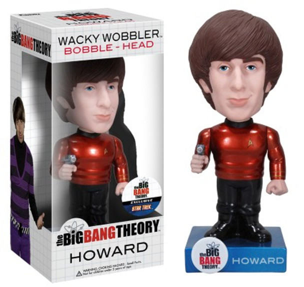 Star Trek Big Bang Theory Howard Bobble Head - Chase Version