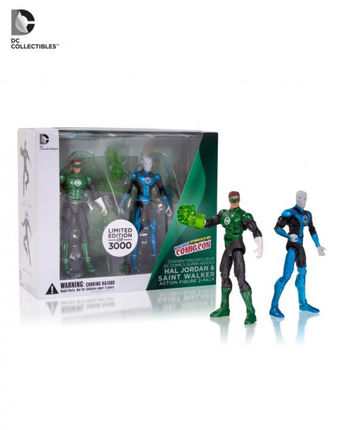 NYCC Exclusive DC Collectibles Hal Jordan & Saint Walker Action Figure 2-Pack