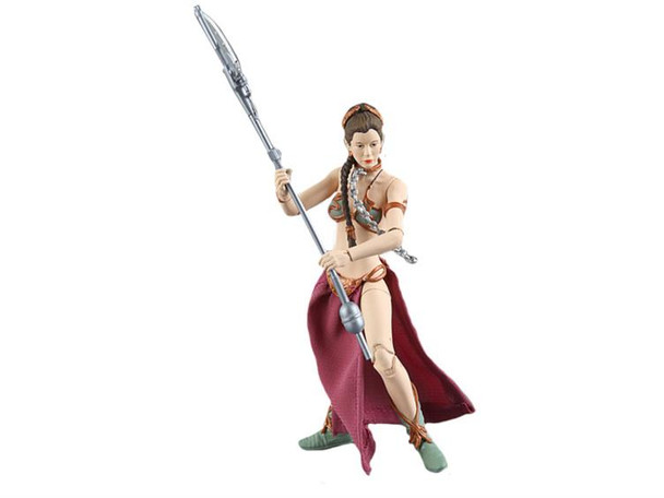 Star Wars The Black Series 2 Slave Leia 6 inch Figure