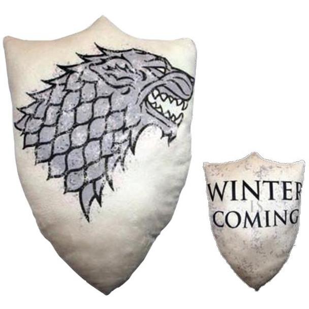 Game Of Thrones - House Sigil Throw Pillow - STARK
