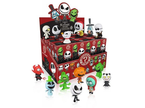 Nightmare Before Christmas Mystery Minis 4-Pack