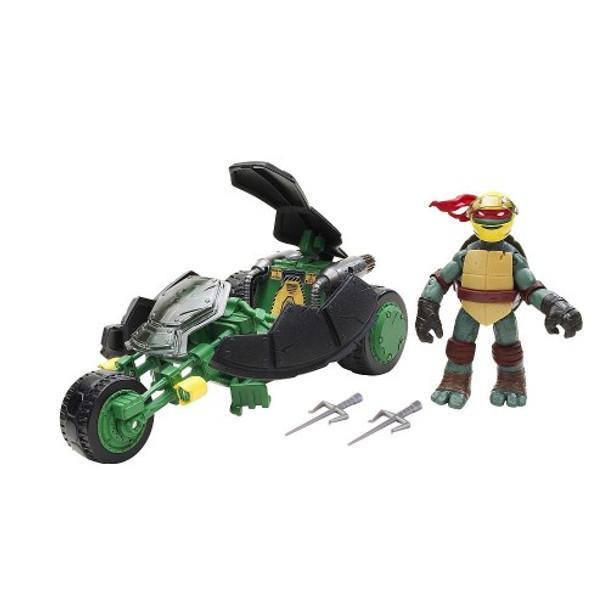 Teenage Mutant Ninja Turtles Vehicle with Figure - Ninja Stealth Bike