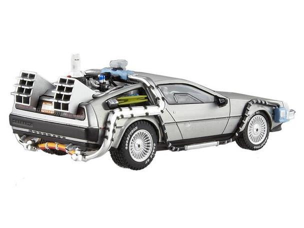 Back to the Future Elite 1:18 Scale Die-Cast DeLorean