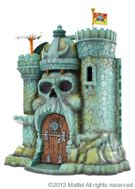 Masters of the Universe Classics Castle Grayskull with Bonus Poster