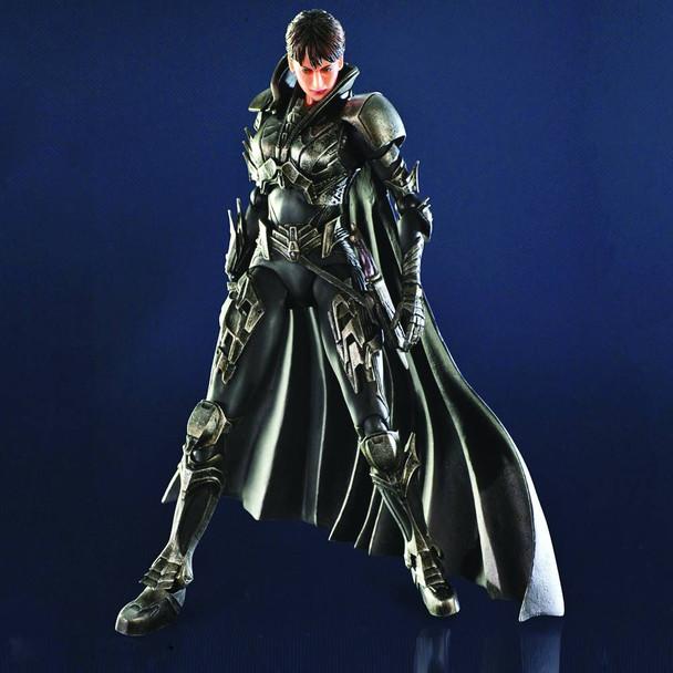 Superman Man of Steel Faora-Ul Play Arts Kai Action Figure