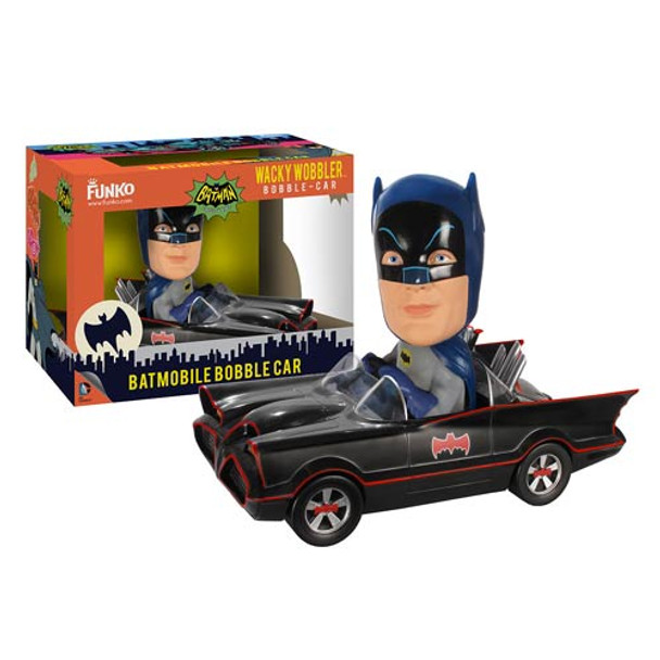 Batman 1966 TV Series Batmobile Bobble Head Vehicle