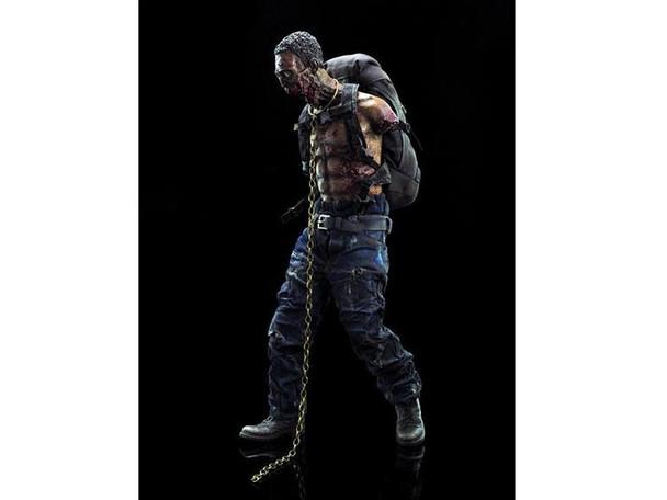 The Walking Dead Michonnes Green Pet Zombie 1:6 Scale Action Figure
