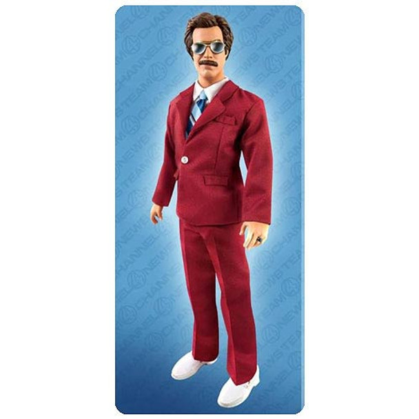 Anchorman Ron Burgundy 13-Inch Talking Action Figure