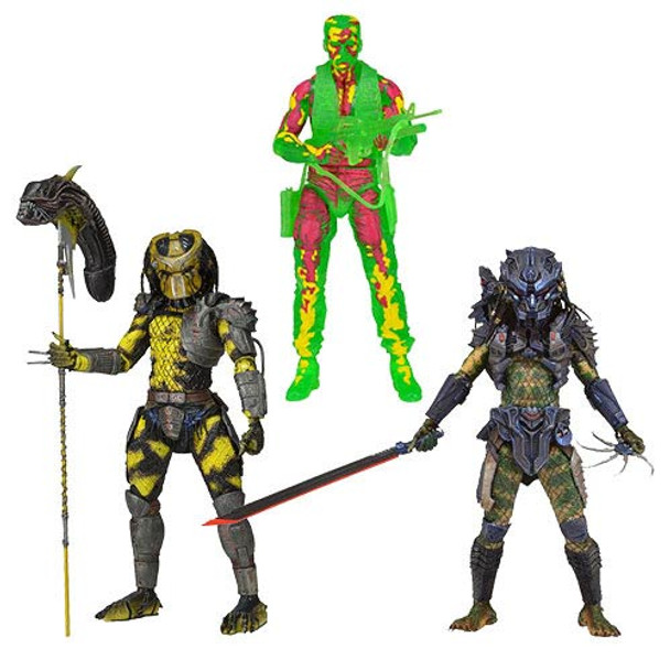 Predator Series 11 Action Figure Set