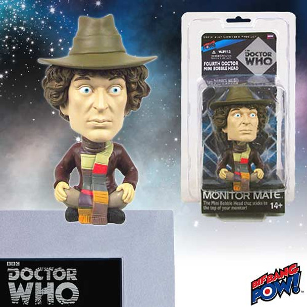 Doctor Who Fourth Doctor Monitor Mate Bobble Head