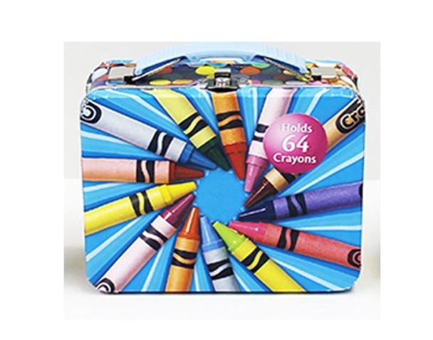 Crayola Small Carry All Tin - Blue