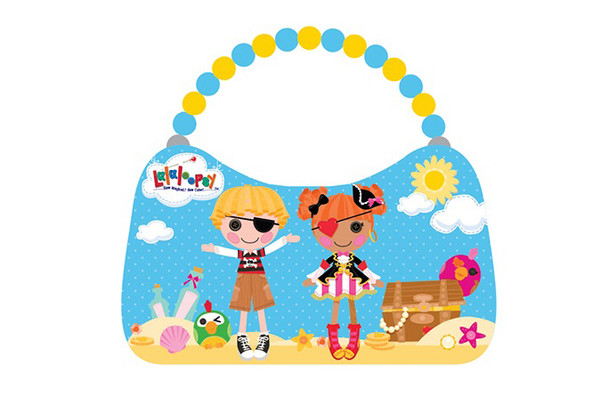 Lalaloopsy Scoop Purse - Blue