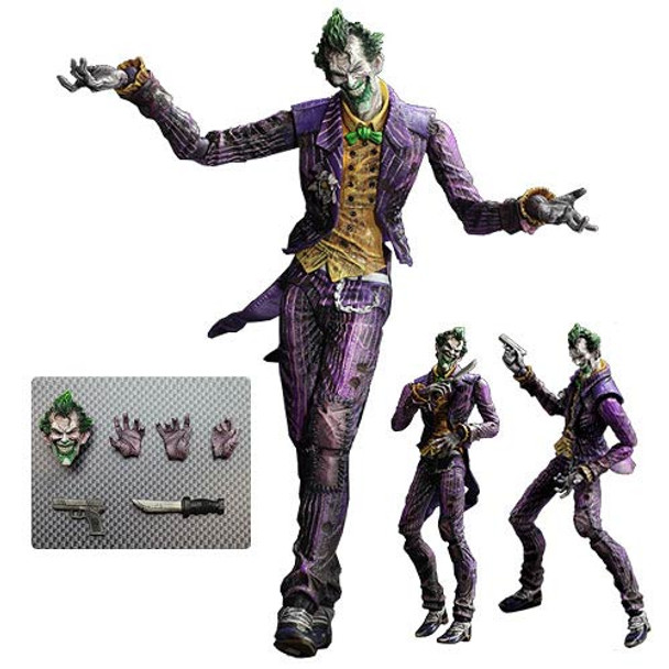 Batman Arkham City Play Arts Kai The Joker Action Figure