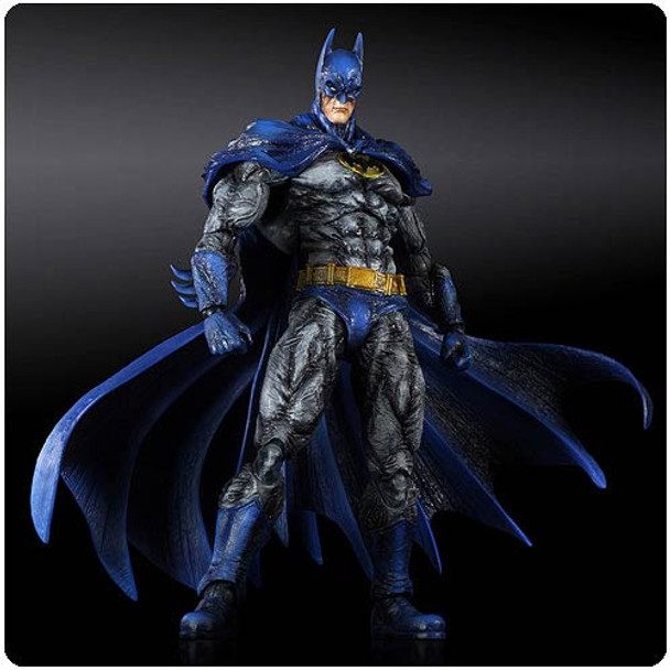 Batman Arkham City Play Arts Kai Batman 1970s Batsuit Skin Action Figure