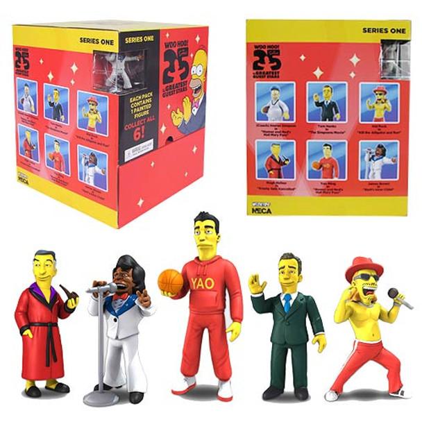 Simpsons 25th Anniversary 2-Inch Mini-Figure Display Box