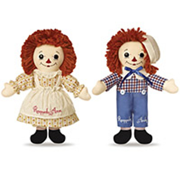 Raggedy Ann & Andy Limited Edition 12.5-Inch Doll Box Set