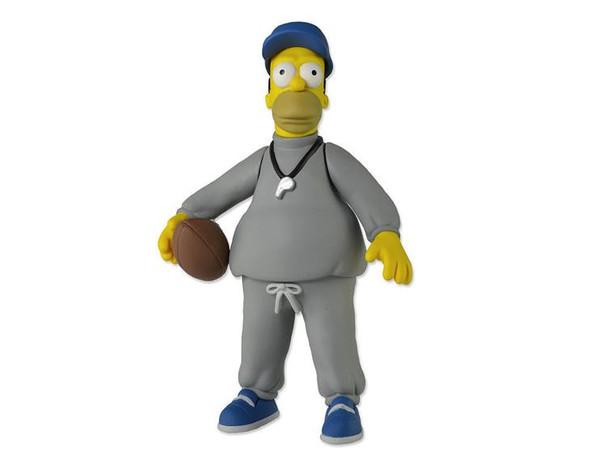 Simpsons 25th Anniversary 5-Inch Coach Homer Simpson Figure