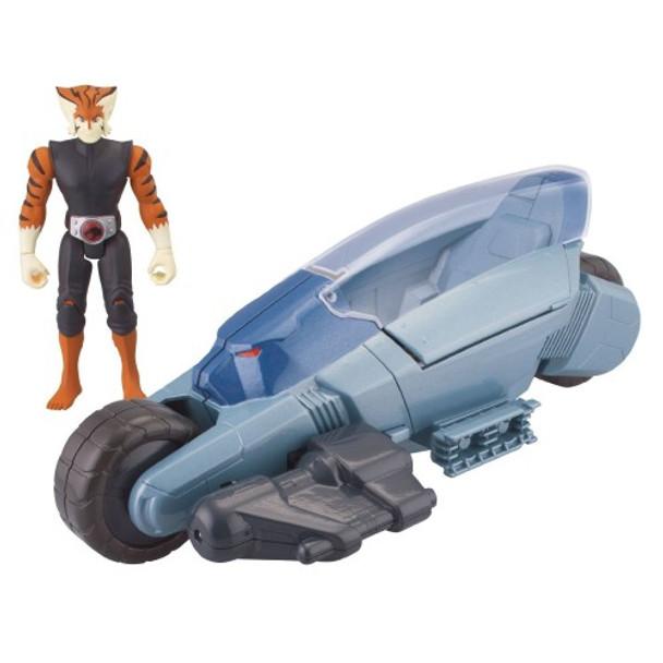 ThunderCats Basic Vehicle with Action Figure ThunderRacer with Tygra
