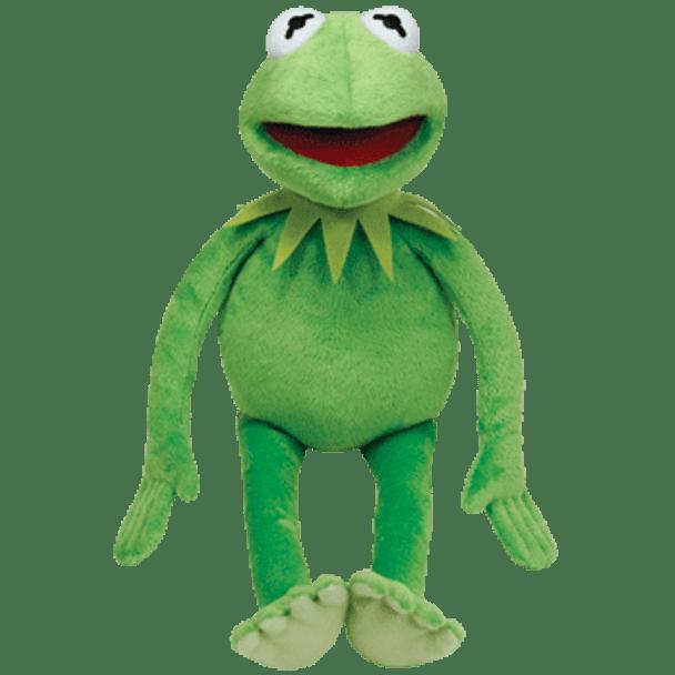 Ty Bean Buddies Muppets Kermit The Frog 13-Inch Plush